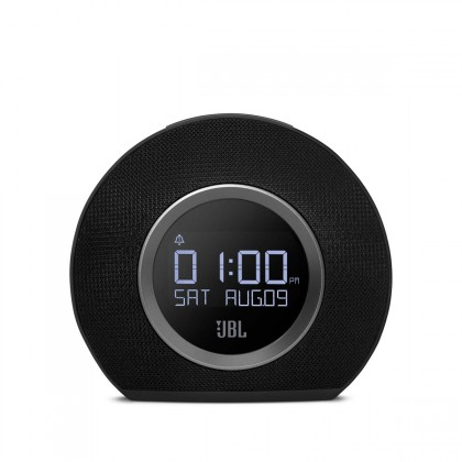JBL HORIZON BLACK-Bluetooth clock radio with USB charging and ambient light