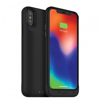 Mophie iPhone XS/X Juice Pack Air 1,720 Mah Battery Case - Wl Charge -  Black