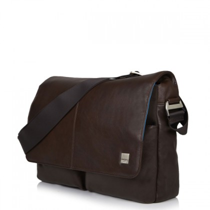 Knomo KOBE Soft Leather Messenger Bag