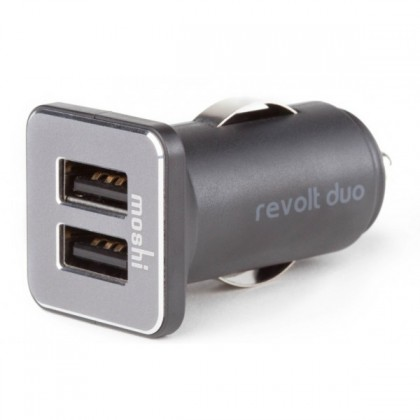 Moshi Revolt Duo With Lightning Cable - Black