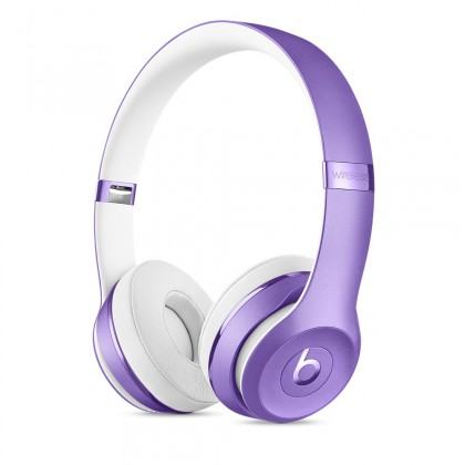 Beats Solo3 Wireless On-Ear Headphones – Ultra Violet