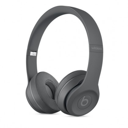 Beats Solo3 Wireless On-Ear Headphones - Neighborhood Collection - Asphalt Grey