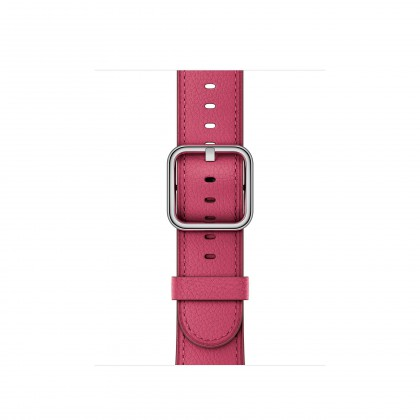 38mm Pink Fuchsia Classic Buckle