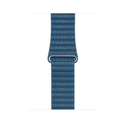 44mm Cape Cod Blue Leather Loop - Medium