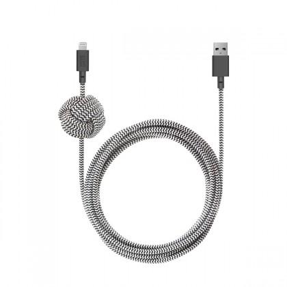 Native Union - Night 3M Cable - Lightning - Zebra