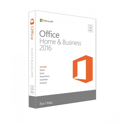 Microsoft Office Mac Home Business 1PK 2016 English Middle East DM Medialess