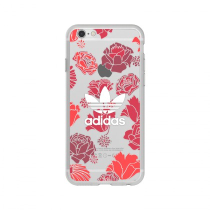 Adidas - iPhone 7 Originals Clear Case - Bohemian Red