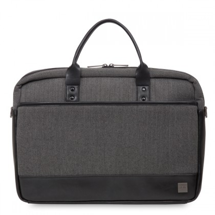 Knomo Holbron Princeton Laptop Briefcase 15.6inch Bag for Men