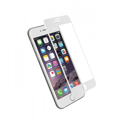 3D curved 9H  Tempered Glass iPhone7 White
