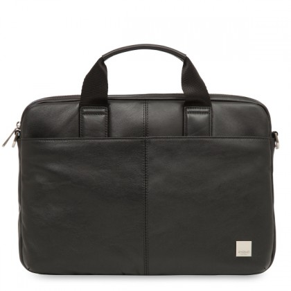 Knomo Standford small Leather Briefcase for Men