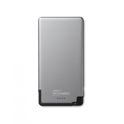 Recharge 5000 PB Ultra Thin Lightning - Space Grey / Black