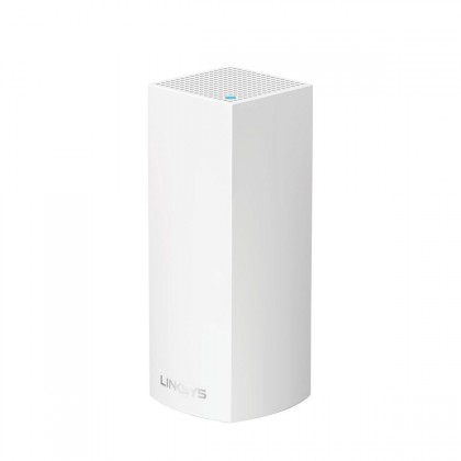 Linksys Velop Intelligent Mesh WiFi System, Tri-Band, 1-Pack - White