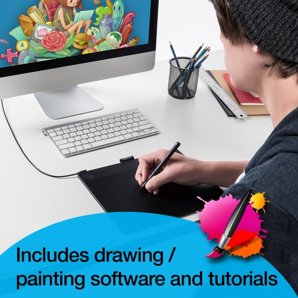 wacom intuos art pen and touch digital graphics drawing painting
