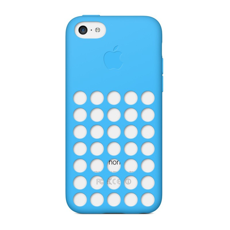 Apple iPhone 5c Case - silikónový obal - Modrý