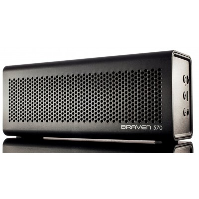 Braven - 570 prenosný bezdrôtový reproduktor - čierna metalíza
