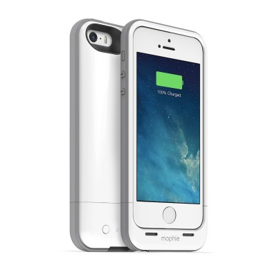 Mophie - Juice Pack a nabíjacie puzdro pre iPhone 5/5S - biely
