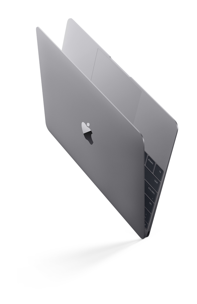 MacBook kozmicko sivý