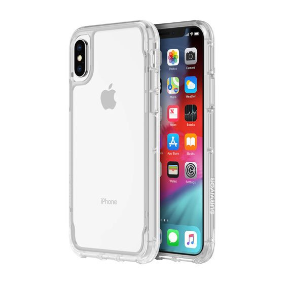 best sneakers d8f15 d1cd1 Griffin Survivor Clear for iPhone X / XS - Clear