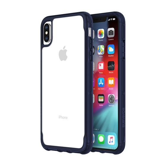 size 40 5f1d2 afa38 Griffin Survivor Clear for Iphone XS Max - Clear/Iris