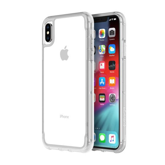 cheap for discount e32c9 a12ef Griffin Survivor Clear for Iphone XS Max- Clear