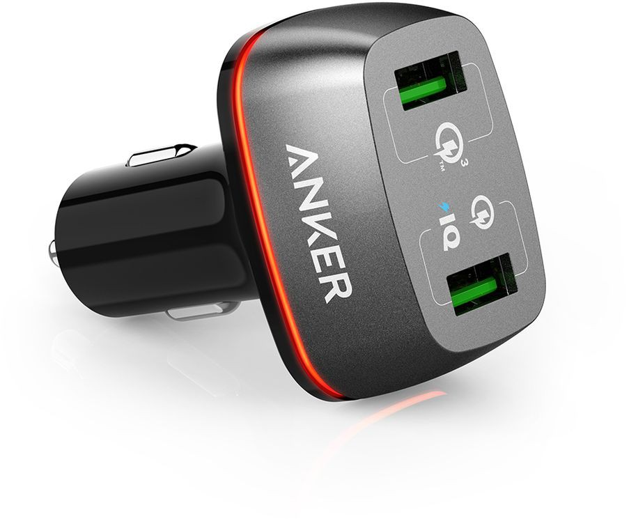 Anker PowerDrive + 2 Quick Charge 2 0 36W Dual USB Car Charge for iPhone /  iPad Pro / Air 2 / mini