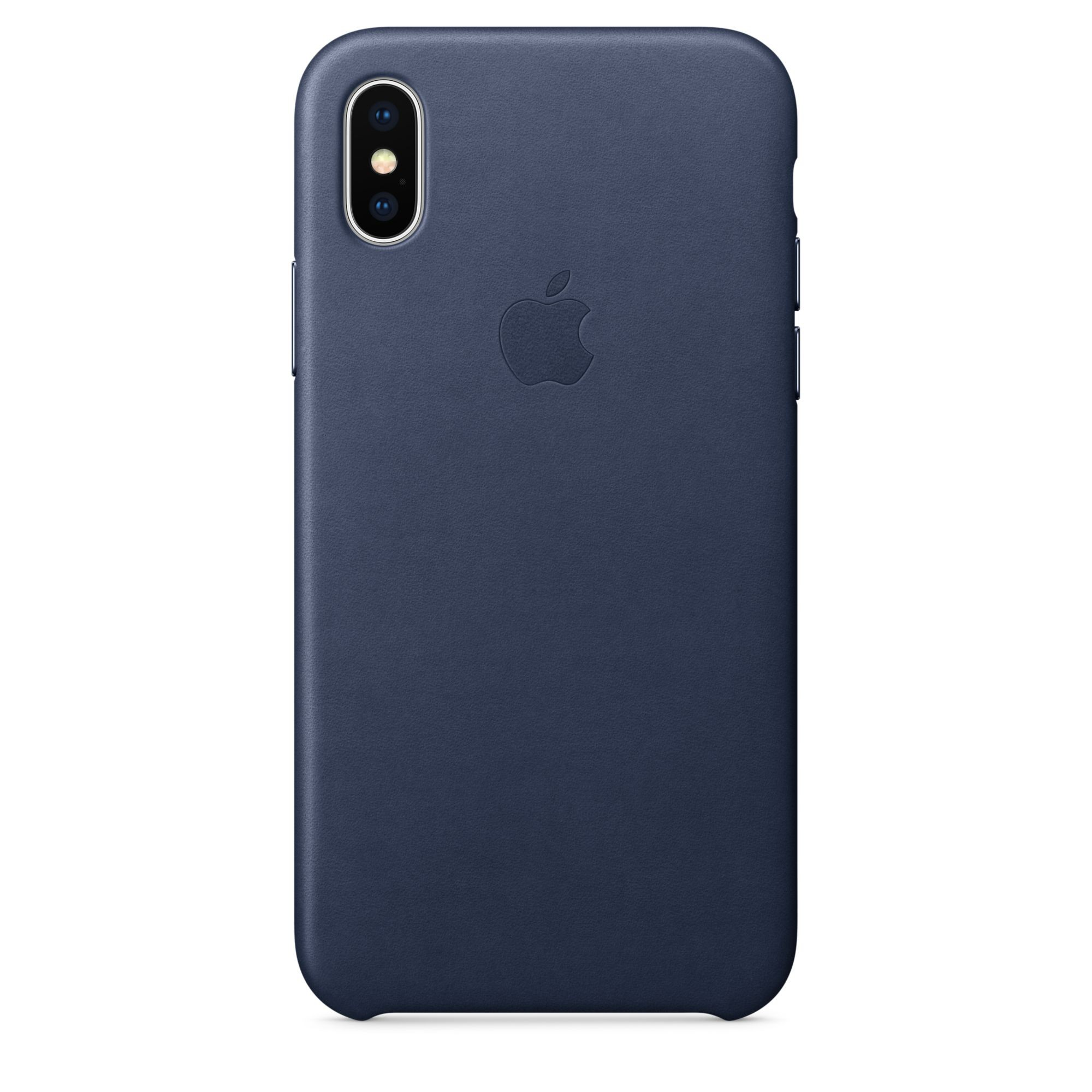 half off cefb4 6e4da Apple - iPhone X Leather Case