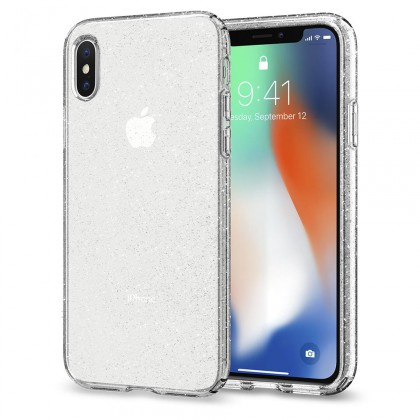 Spigen iPhone X Liquid Crystal Glitter Crystal Quartz 057CS22122