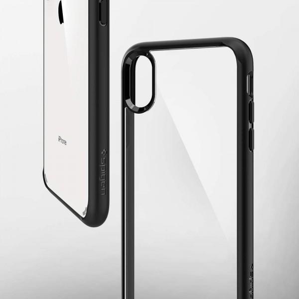 info for 29477 49b9d Spigen New iPhone XS Max Case Ultra Hybrid Matte Black (Ver.2 ...
