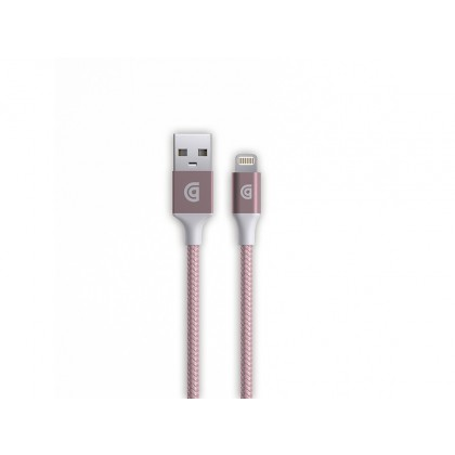 Griffin New USB to Lightning Cable Premium 5ft in Rose Gold