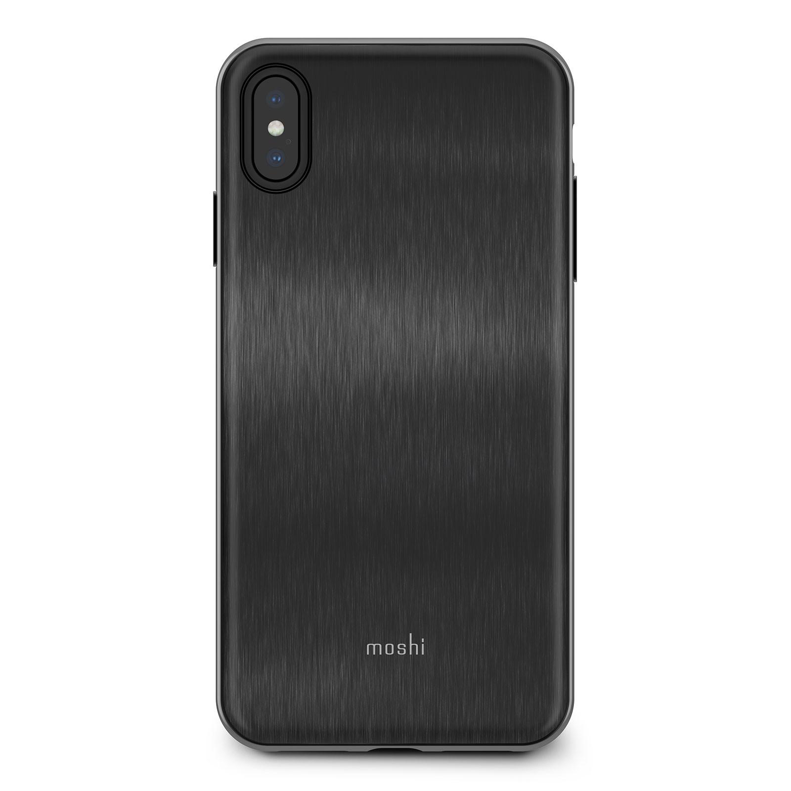 506b04b711e04b Moshi iPhone XS Max iGlaze - Armour Black - iSTYLE - Apple Premium ...