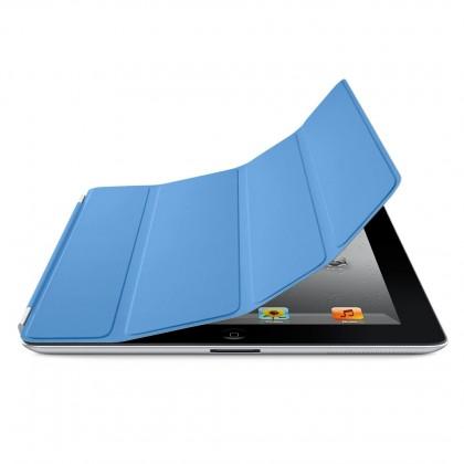 Apple iPad Smart Cover - Polyurethane - Blue