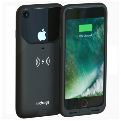 AIR0337 AIRCHARGE iPHONE 7 CASE BLACK W