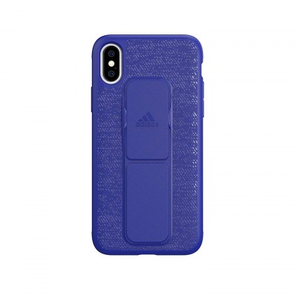 Adidas - iPhone XS - Grip Case - Blue