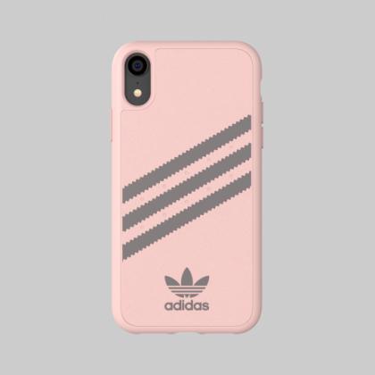 Adidas - iPhone XR - 3 Stripes Case - Gazelle Pink