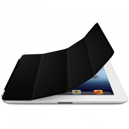 iPad Smart Cover - Leather - Black
