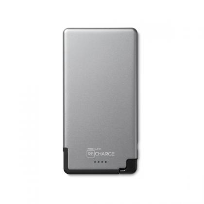 Recharge 5000 PB Ultra Thin Lightning - Space Grey / Black
