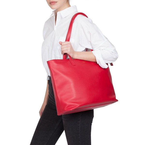 Knomo Maddox Leather Top-Zip Tote Classic Style Bag - iSTYLE - Apple ... f1637f71e9194