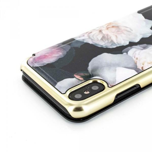 4ed87da45c4f8 ... Proporta Ted Baker Iphone X Mirror Folio Case Malibai - Chelsea Black