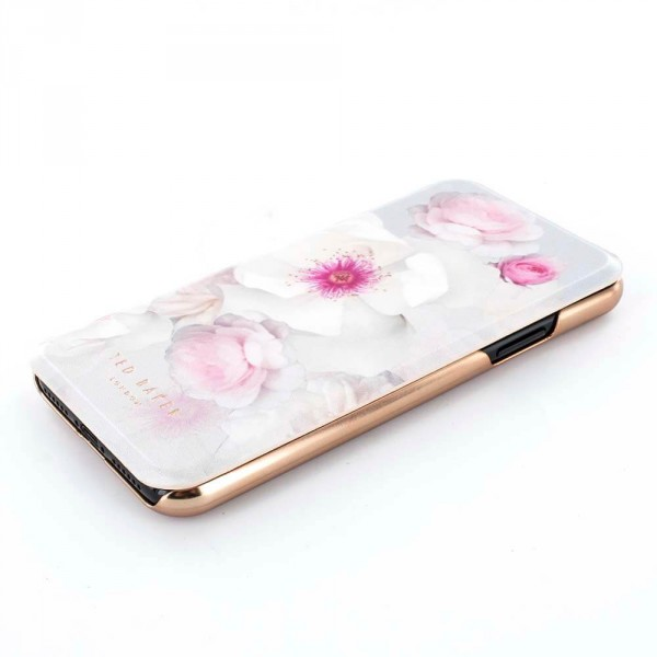b67a2c73a Proporta Ted Baker Iphone X Mirror Folio Case Malibai - Chelsea Grey ...