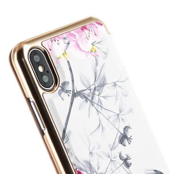 b58a68c45 Ted Baker Folio Case iPhone XS Max - BABYLON - iSTYLE - Apple ...